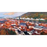 德国海德堡(油画)