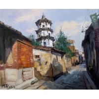 泉州井亭巷(油画)