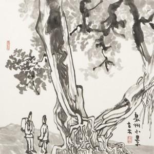 章耀 泉州小景