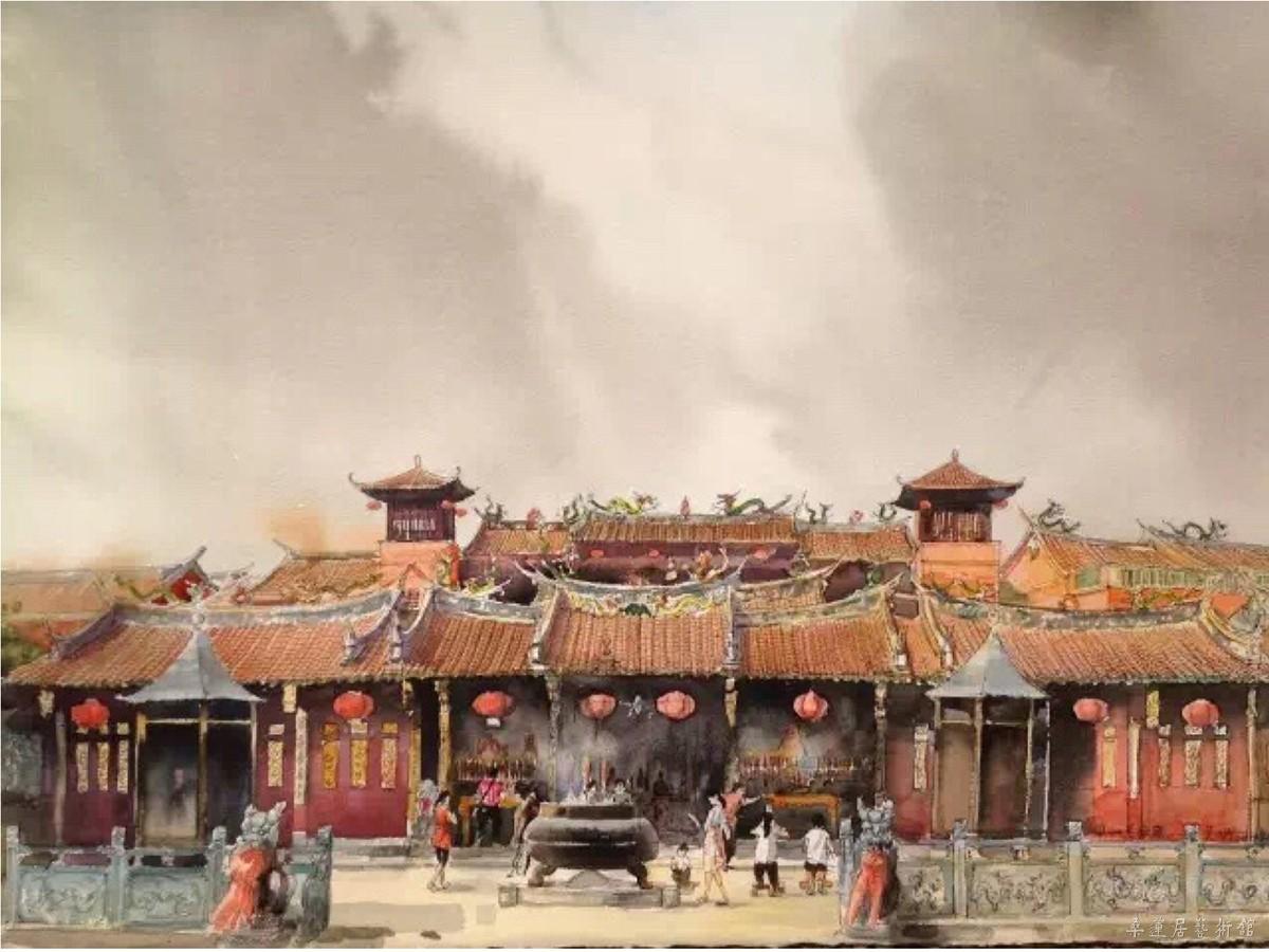 桑蓮居|畫說刺桐——泉州古跡水彩寫生作品展