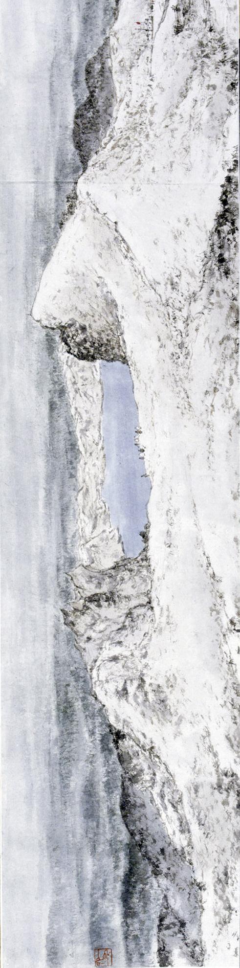 傅抱石 1961年 天池林海图卷 副本旋转副本