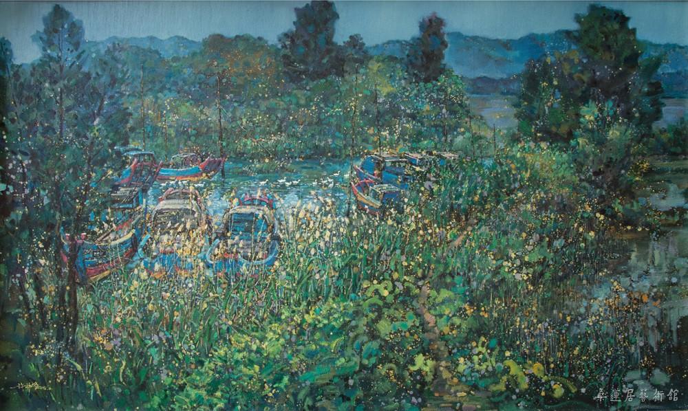 湿地家园(120×180)-许林峰 缩图