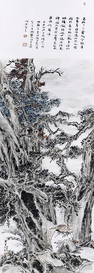 林散之 枯木逢春图 (网络图)