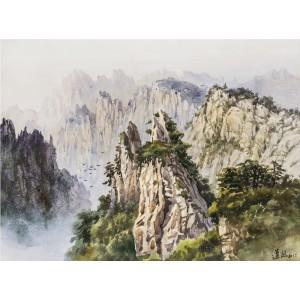 黄山(水彩)