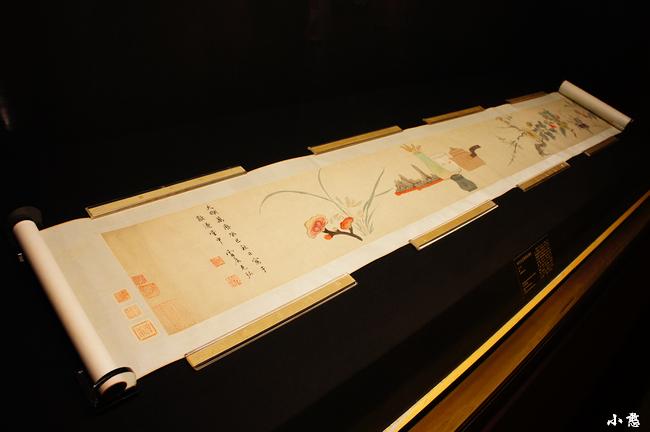 明万历 孙克弘 绘芸窗清玩图卷1 小憨的七个三八个四的博客