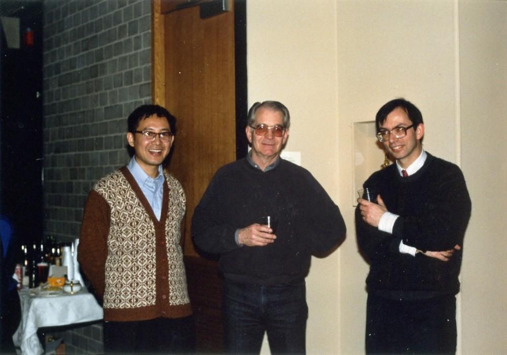 1992年白谦慎和班宗华(中),马麟(右)