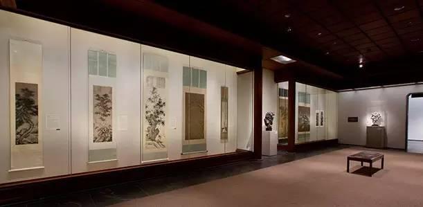 大都会艺术博物馆亚洲部共有7个独立展厅,包括王己千厅等
