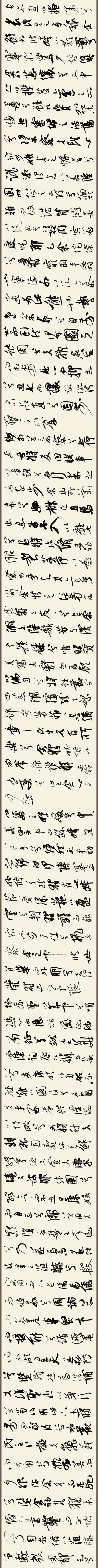 2018.06.18 书法日课 《离骚》长卷2 缩图