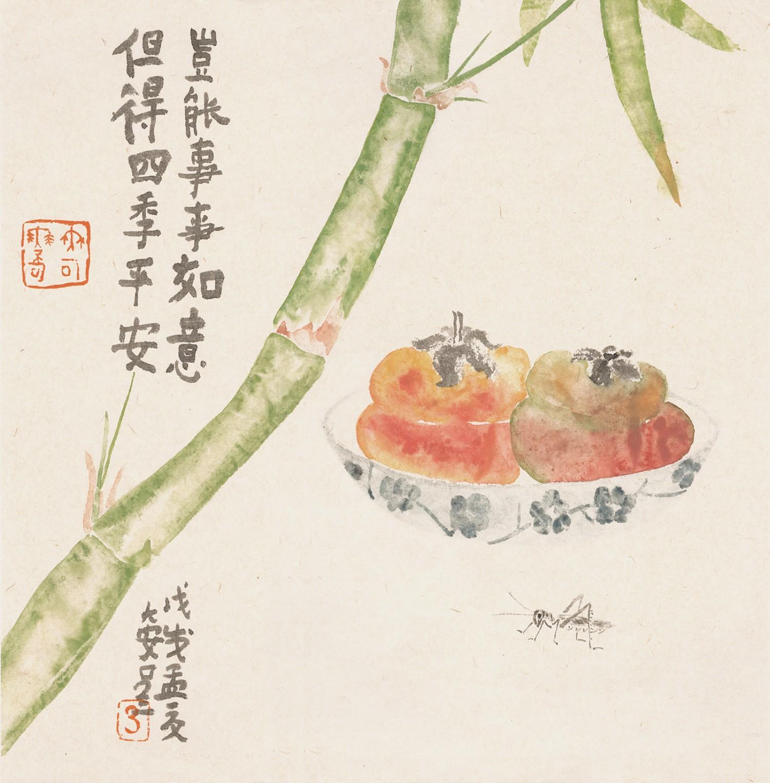 平安如意(35cmX35cm)