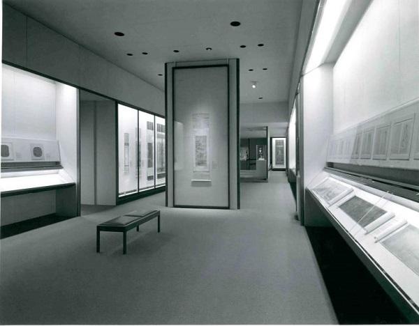 大都会艺术博物馆狄隆中国书画厅(Dillon Gallery),1980年代,大都会艺术博物馆亚洲艺术部藏部门资料 1