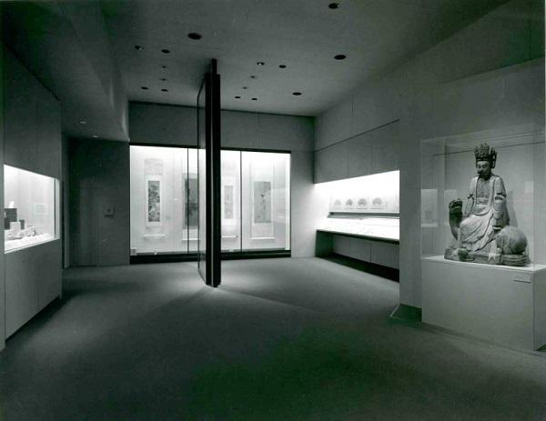 大都会艺术博物馆狄隆中国书画厅(Dillon Gallery),1980年代,大都会艺术博物馆亚洲艺术部藏部门资料 2