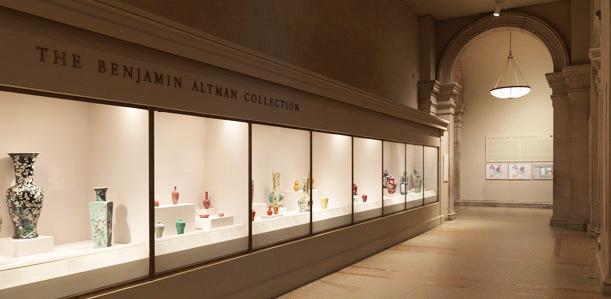 大都会博物馆中国瓷器馆1。图片采集自品米国的博客。