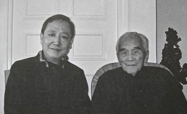 梁雪予、许礼平合影,2006年大年初一 副本缩图