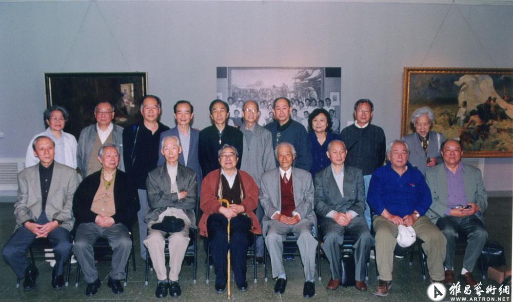 2002年马克西莫夫油训班学员在北京聚会
