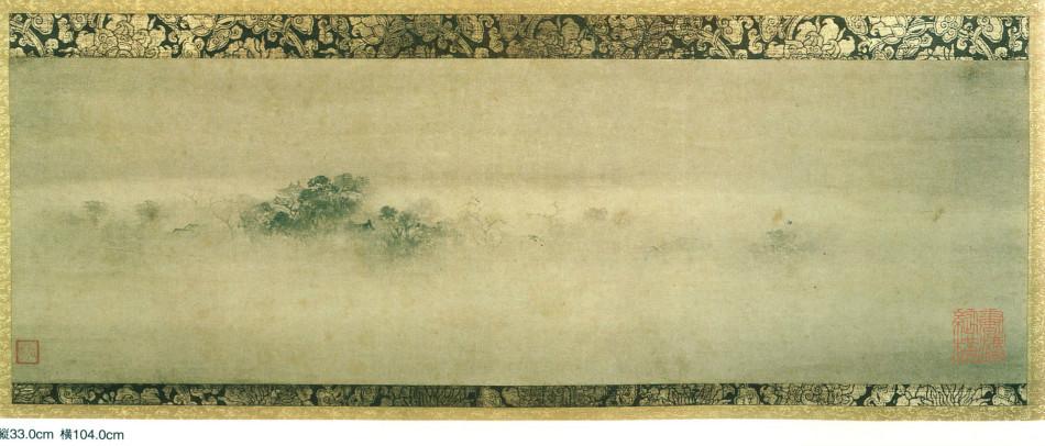 潇湘八景·烟寺晚钟