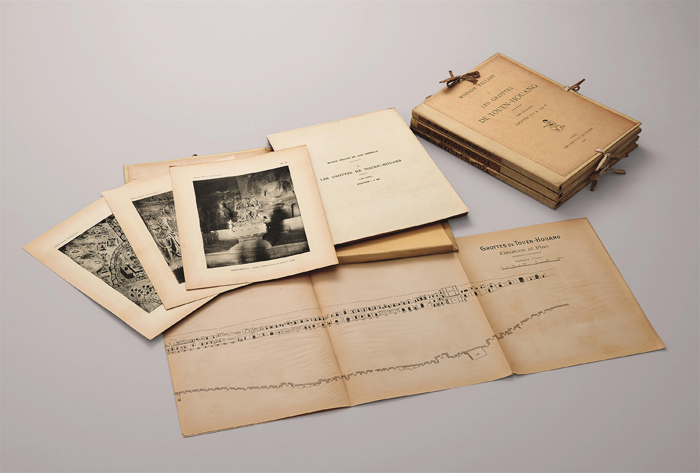 伯希和《敦煌石窟图录》初版 四册 1922年 缩图