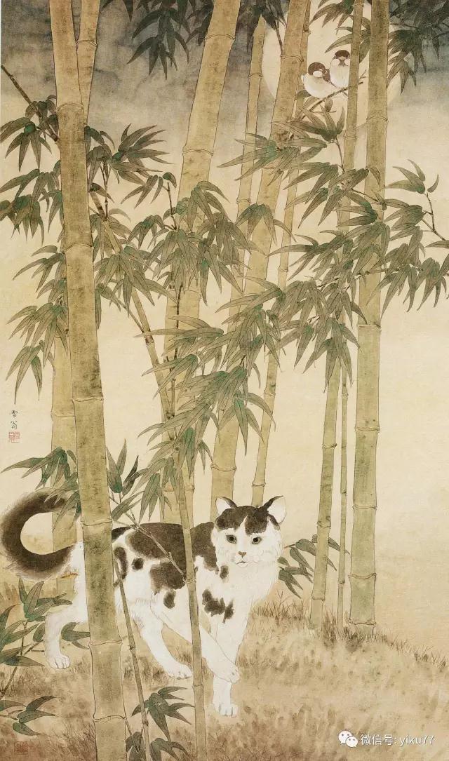 竹林静趣    1946年