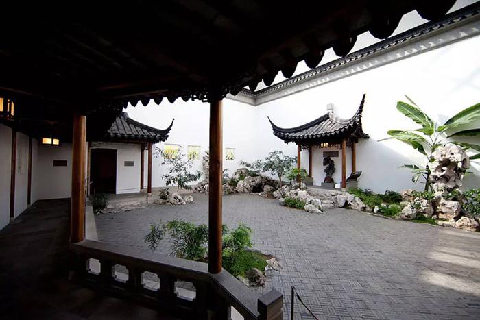 位于大都会艺术博物馆亚洲部的中国明式风格园林 缩图