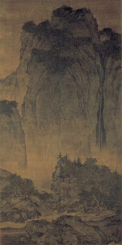 Fan_Kuan_-_Travelers_Among_Mountains_and_Streams_-_Google_Art_Project 副本 缩图2
