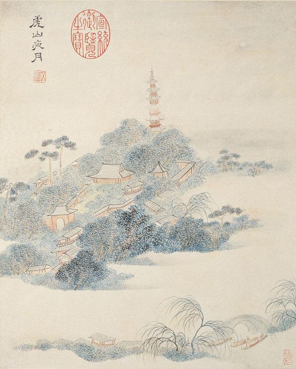 2 虎山夜月 缩图