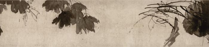 明 徐渭《杂花图》卷1 南京博物院藏 局部2 缩图