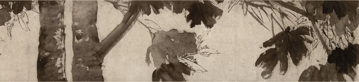 明 徐渭《杂花图》卷1 南京博物院藏 局部3 缩图