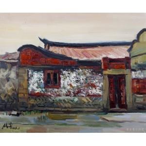 蟳蜅古厝(油画)
