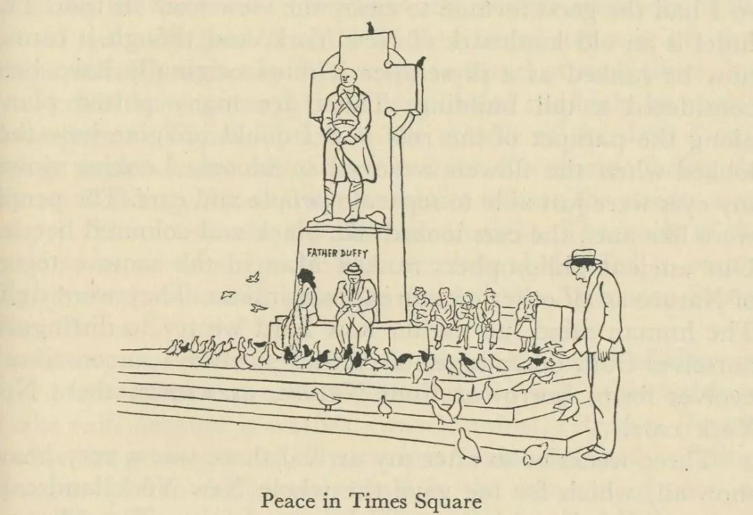 peace in times square
