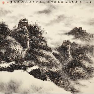 雪景|长城